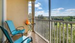 West facing balcony with spectacular open views from Sonoma 1 Condo for rent in Orlando