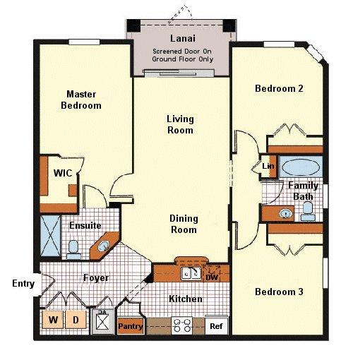 Sonoma 1 Floorplan