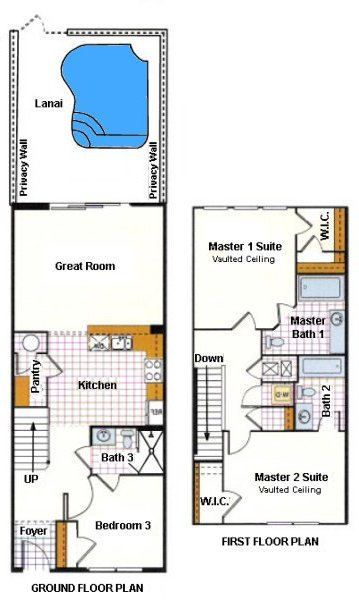 Saddlebrook 9 Floorplan
