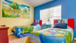 Townhouse rentals in Orlando, check out the Kids' Bedroom with Ensuite Bathroom