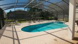 New pool area extension with this Orlando Villa for rent direct from owner