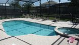 Brentwood 4 Villa rental near Disney with South facing pool & spa