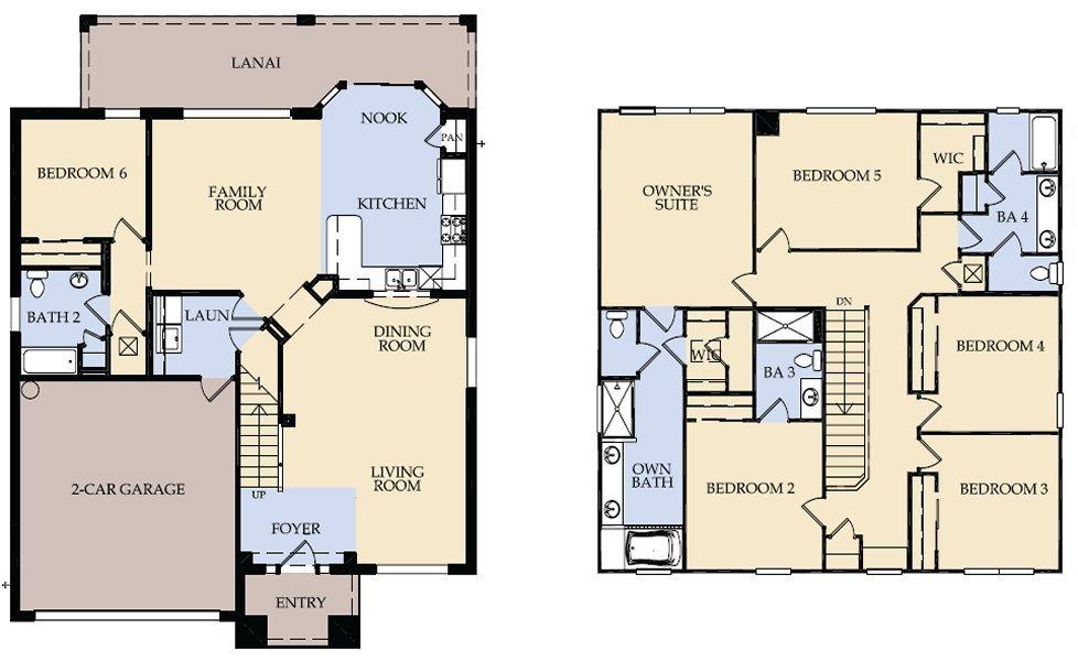Brentwood 2 Floorplan