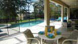 South-facing pool and spa - www.iwantavilla.com is the best in Orlando vacation Villa rentals