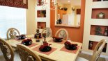 Villa rentals near Disney direct with owner, check out the Formal dining