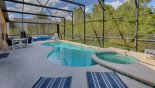Pool with conservation woodland views - www.iwantavilla.com is the best in Orlando vacation Villa rentals