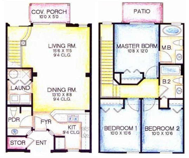Sabine 2 Floorplan