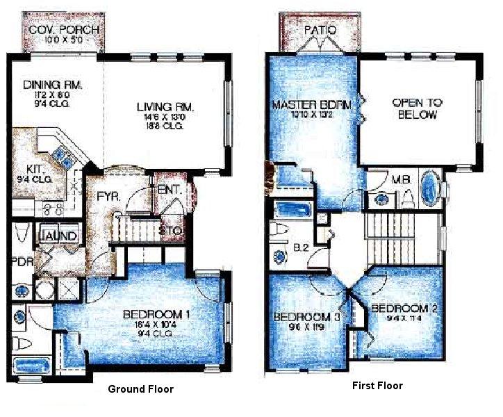 Sarasota 1 Floorplan