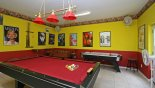 Villa rentals near Disney direct with owner, check out the Fully Air-con games-room