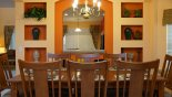 Spacious rental Emerald Island Resort Villa in Orlando complete with stunning Formal dining
