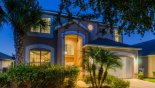 View of villa at night - www.iwantavilla.com is the best in Orlando vacation Villa rentals