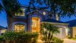 View of villa at night - www.iwantavilla.com is the best in Orlando vacation Villa rentals
