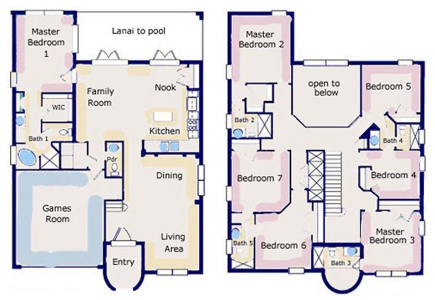 Palm Harbour 6 Floorplan