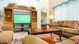 Family room - www.iwantavilla.com is the best in Orlando vacation Villa rentals