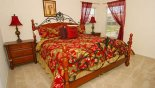 Master Bed 2 with own bathroom from Emerald Island Resort rental Villa direct from owner