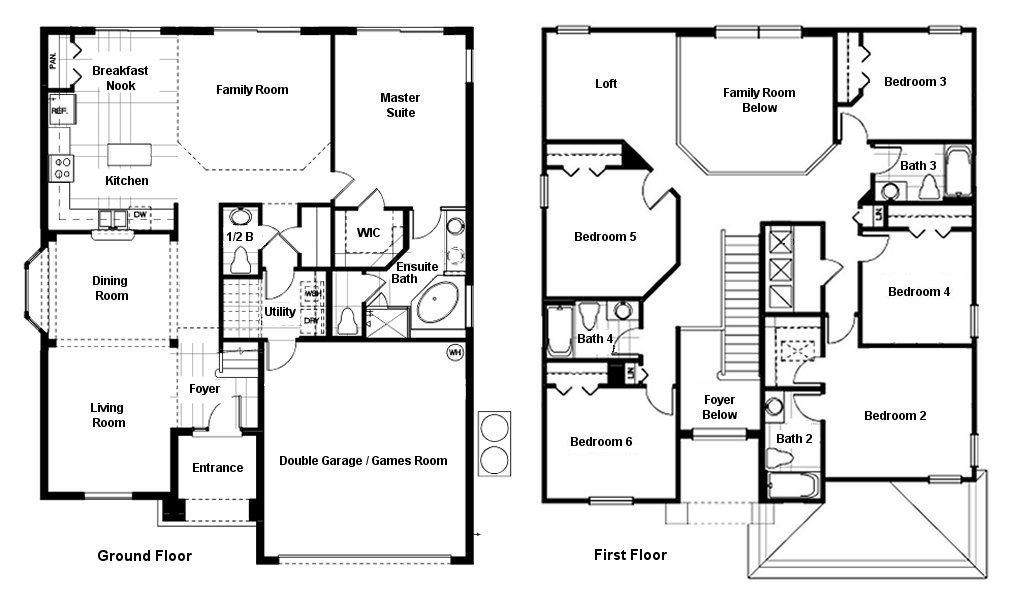 Queen Palm 2 Floorplan