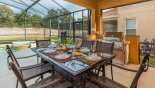 Pricate alfreco dining is style from Watersong Resort rental Villa direct from owner