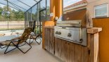 Orlando Villa for rent direct from owner, check out the Built-in gas BBQ for your alfresco dining pleasure
