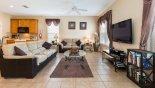 Naples Beach 1 Villa rental near Disney with Family room with 50'' plasma TV, DVD & PlayStation