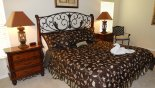 Villa rentals near Disney direct with owner, check out the Master 1 bedroom with king sized bed